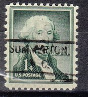 USA Precancel Vorausentwertung Preo, Locals South Carolina, Summerton 804 - United States