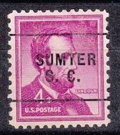 USA Precancel Vorausentwertung Preo, Locals South Carolina, Sumter 271 - Vereinigte Staaten
