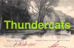 CPA HORN BIJ ROERMONDHISTORISCH KASTEEL DER GRAVEN EGMOND & HOORN - Roermond