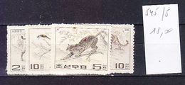 TIMBRE..............CORÉE 545/548 1964 - Korea (...-1945)
