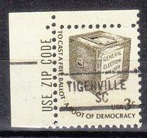 USA Precancel Vorausentwertung Preo, Locals South Carolina, Tigerville 841 - Vorausentwertungen