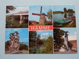 Groeten Uit HAMME ( J.V.d.B. ) Anno 19?? ( Zie Foto Voor Details ) ! - Hamme