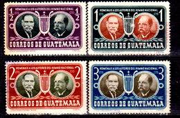 Guatemala-0132 - Emissione 1953 (+/o) LH/Used - - Guatemala