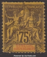 *PROMO* Sénégal 75c Groupe Neuf * Aspect TB (Dallay N° 19, Cote  28€) - Ungebraucht