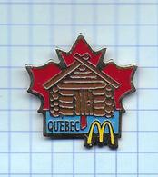 Pin's Pins /  THEME MC DONALD'S MAC DO QUEBEC CANADA  / Signé Arthus Bertrand - McDonald's