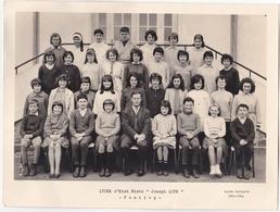 """PONTIVY - Photo De Classe - Lycée D'Etat Mixte """"Joseph Loth"""" - Année Scolaire 1963 - 1964 - Unclassified"""