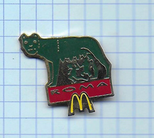 Pin's Pins /  THEME MC DONALD'S MAC DO ITALIE ROMA  / Signé Arthus Bertrand - McDonald's