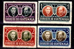 Guatemala-0133 - Emissione 1953 (+/o) LH/Used - - Guatemala