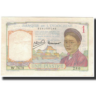 Billet, FRENCH INDO-CHINA, 1 Piastre, 1946, KM:54c, NEUF - Indochina