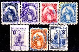 Guatemala-0134 - Emissione 1954-58 (o) Used - - Guatemala