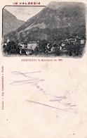 FERVENTO DI BOCCIOLETO (VC) - VALSESIA - PANORAMA - E - F/P - V: 1900 - I - Italia