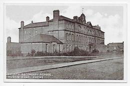 Crewe - County Secondary School - England