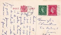 INGHILTERRA STORIA POSTALE N° 4 CARTOLINE POSTALI  VIAGGIATA - Interi Postali