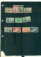 FEZZAN SUJETS DIVERS 11 VAL AVEC CHARNIERE A PARTIR DE 1.50 EUROS - Fezzan (1943-1951)