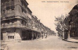 V14924 Cpa 30 Uzès - Boulevard Gambetta - Uzès