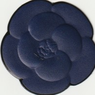CHANEL  Nouveau Camélia BLEU ( Bleu De Chanel) Sticker Au Verso - Modern (from 1961)