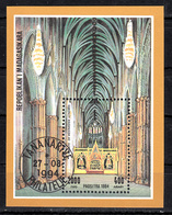 Madagaskar 1994 MI Nr Blok 259, Kathedraal Westminster Abbey - Madagaskar (1960-...)
