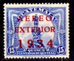 Guatemala-0138 - Emissione Di P.A.  1934 (+) LH - - Guatemala