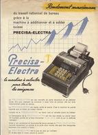 Machine à Calculer Precisa Electra Suisse - Publicités