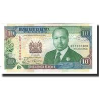 Billet, Kenya, 10 Shillings, 1993-07-01, KM:24e, NEUF - Kenya