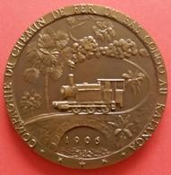 Belgian Congo - Congo Belge - Katanga Railway - Chemin De Fer - 1906 - 1956 - Professionals / Firms