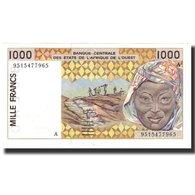 Billet, West African States, 1000 Francs, 1995, KM:111Ae, SPL - West African States