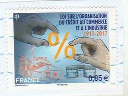 FRANCE 2017 LOI SUR L ORGANISATION DU CREDIT AU COMMERCE ET A L INDUSTRIE OBLITERE - YT 5132 -          TDA245 - France