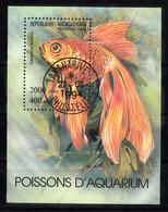 Madagaskar 1994 MI Nr Blok 263 , Aquarium, Vissen, Fish - Madagaskar (1960-...)