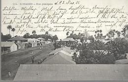 Guinée Française Konakry Rue Principale  CPA 1905 - French Guinea