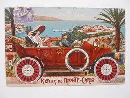 Souvenirs De Monte-Carlo - Retour De Monte-Carlo - Monaco
