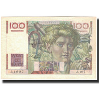France, 100 Francs, 100 F 1945-1954 ''Jeune Paysan'', 1947-04-03, SPL+ - 1871-1952 Anciens Francs Circulés Au XXème