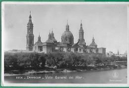 ! - Espagne - Zaragoza - Vista General Del Pilar - Zaragoza