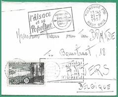 ! - France - Lettre Avec Timbre YT 1118 - Envoi De Mulhouse Vers Anvers (Belgique) - France
