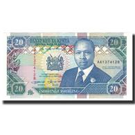 Billet, Kenya, 200 Shillings, 1993-09-14, KM:29e, NEUF - Kenya