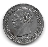 10 Øre Frederik VIII Danemark (Denmark) 1910 Argent - Denmark