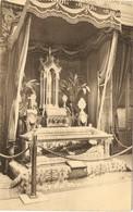 BERCHMANS-HULDE - 1921  ---  Berchmans-tentoonstelling - De Relikwieën - Diest