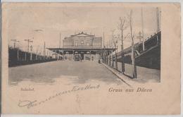 Gruss Aus Düren - Bahnhof, Belebt - Soft Toys