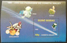 Guinea-Bissau 1986 Giotto Space Probe S/S - Guinea-Bissau