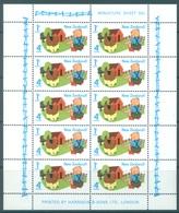 NEW ZEALAND - MNH/** - 1975 - HEALTH - Yv Bloc 38 Sc B93a SG MS1082  - Lot 17128 - Blocs-feuillets