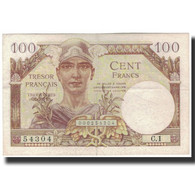 France, 100 Francs, 1947 French Treasury, 1947, TTB+, Fayette:VF32.1, KM:M9 - Tesoro