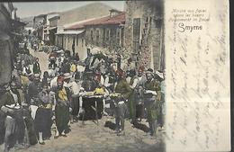 Turquie  Smyrne  Marché Aux Figues    CPA   06 03 1906 - Turquie