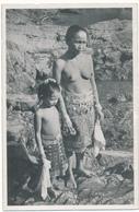 BORNEO - Carte Photo - Nu Ethnique Datée 1956 Au Verso - 2 Scans - Indonésie