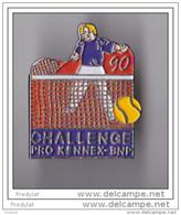 PIN'S  THEME SPORT TENNIS  CHALLENGE PRO KENNEX BNP  1990  PARIS - Tennis