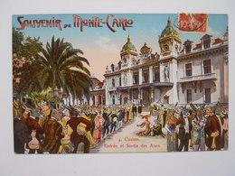 Souvenirs De Monte-Carlo - - Monaco