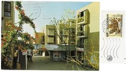 Brabant>Ottignies-LOUVAIN-LA-NEUVE Place Galilée 1980 - Timbre 6,50F MONS - BERGEN 1348 - N°5 Nels - Ottignies-Louvain-la-Neuve