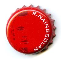 BELGIQUE / CAPSULE BIERE  JUPILER  - MONDIAL RUSSIE / R. NAINGGOLAN - Beer