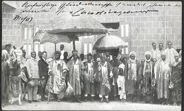 Dahomey Le Roi ALAKE &   Councie Abeokuta   CPA 1907  Oblitérations - Dahomey