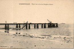 Gabon. Libreville. Wharf De La Cie Des Chargeurs Réunis - Gabon
