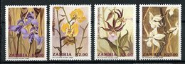 ZAMBIE 1992 N° 549/552 ** Neufs MNH Superbes Flore Fleurs Orchidées Flowers - Zambia (1965-...)