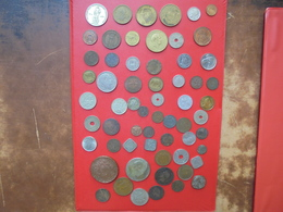 61 MONNAIES DU MONDE BEAU LOT ! START 1 EURO ! (360 Grammes) - Monnaies & Billets